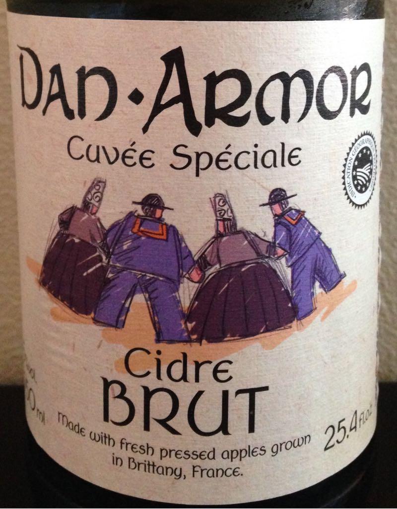 Cuvée Speciale Wine - Cidre Brut (Dan Armor) front image (front cover)