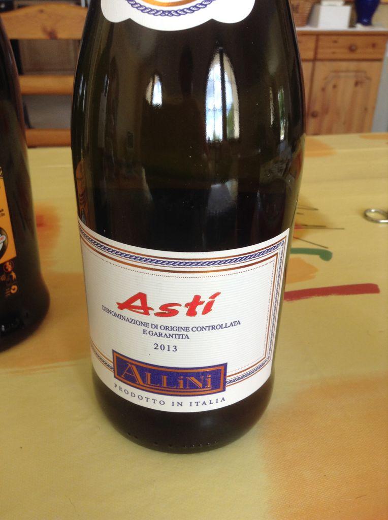 Asti Allini Wine - Muscat - from Sort It Apps