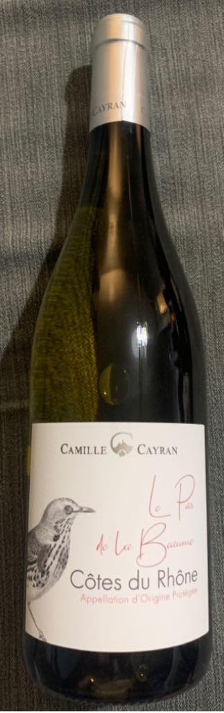 Cotes Du Rhone. Wine - White front image (front cover)