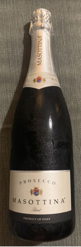 Prosecco Masottina Wine - White sparkling front image (front cover)