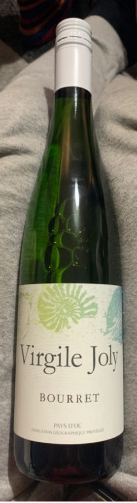Virgile Joly Wine - White front image (front cover)