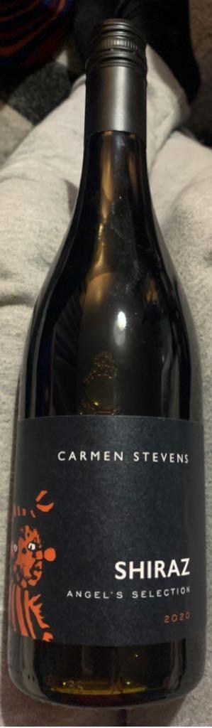 Carmen Stevens Shiraz Wine - Red front image (front cover)