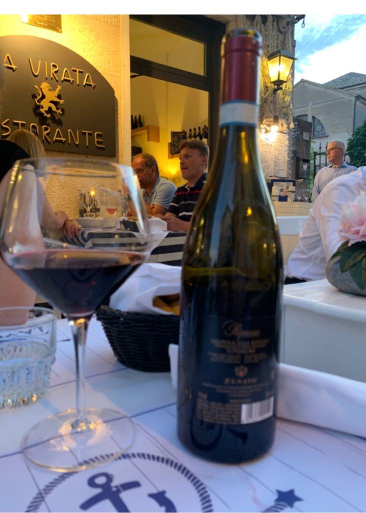 Ripasso Valpolicella Superiore Zenato Wine - Valpolicella Ripasso Superiore (Bardolino La virata) back image (back cover, second image)