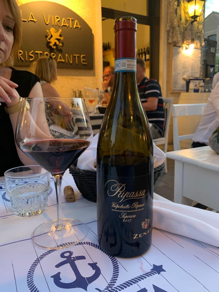 Ripasso Valpolicella Superiore Zenato Wine - Valpolicella Ripasso Superiore (Bardolino La virata) front image (front cover)