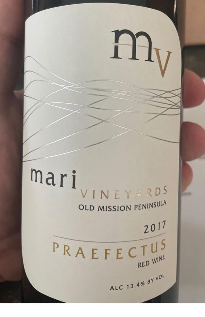 Praefectus Wine - Cab Frank Cab Sauv (Mari Vineyard) front image (front cover)