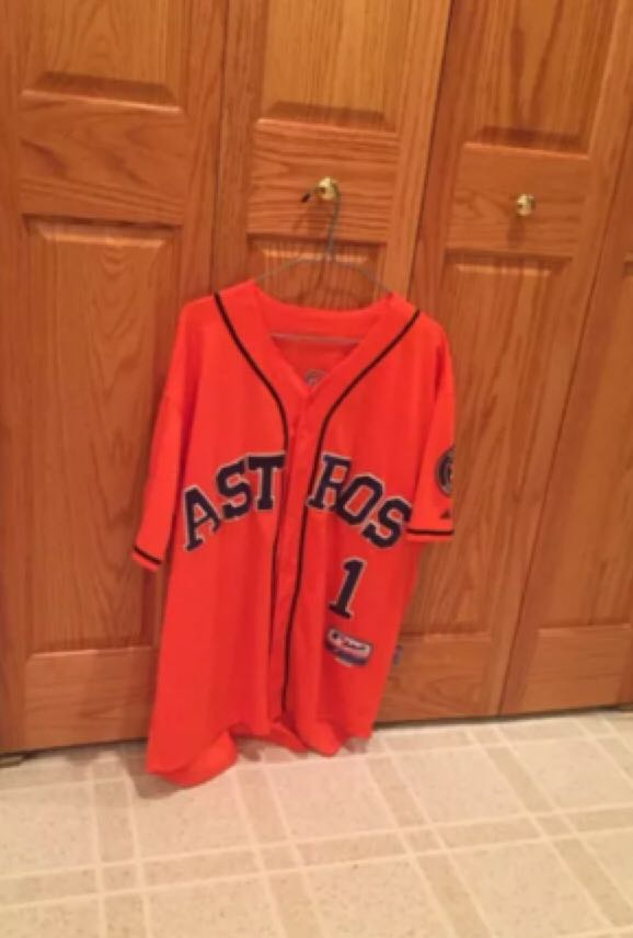 Carlos Correa Houston Astros Jersey Wine - 50th Anniversary front image (front cover)