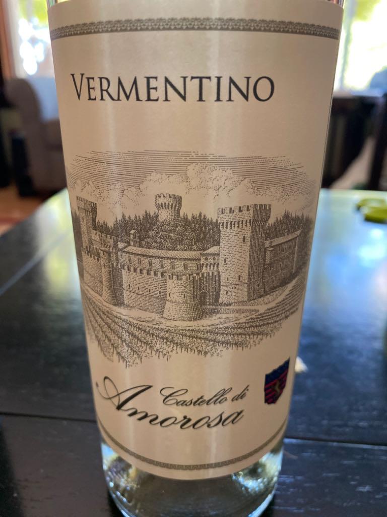 Vermentino Wine - Vermentino (Castello Di Amorosa) front image (front cover)