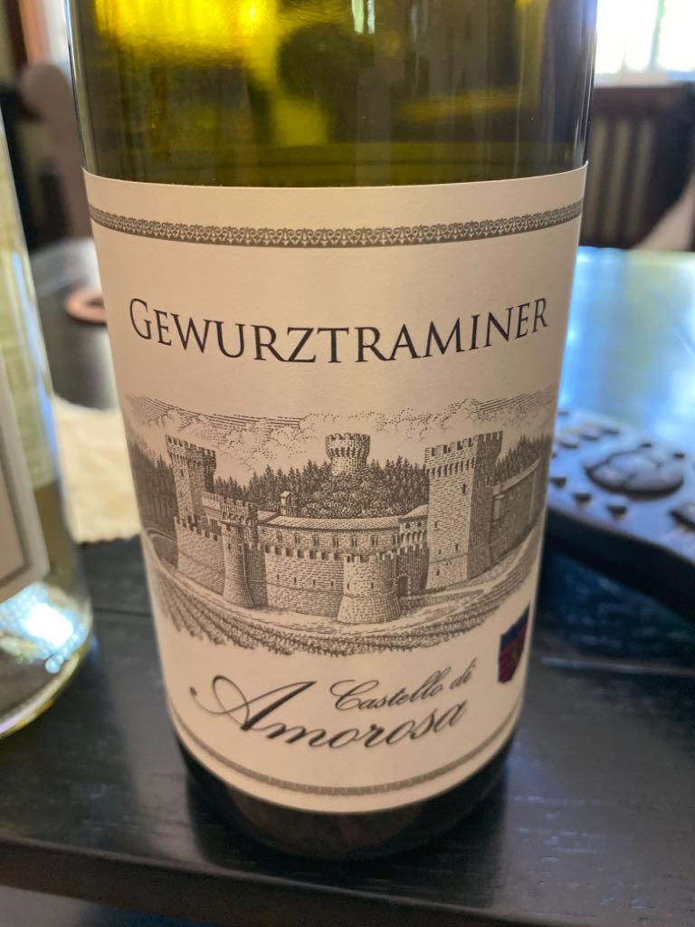 Gewurtztraminer Wine - 100% Gewurztraminer (Castello Di Amorosa) front image (front cover)
