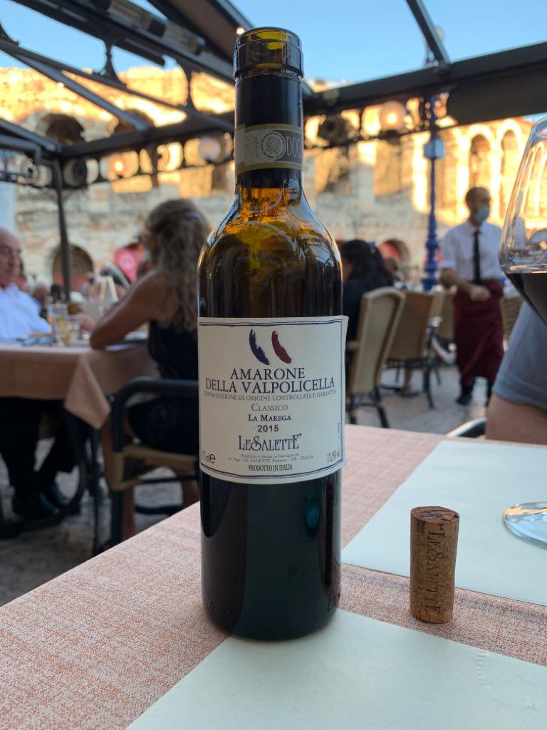 Le Salette Amarone Wine - Amarone Della Valpolicella front image (front cover)