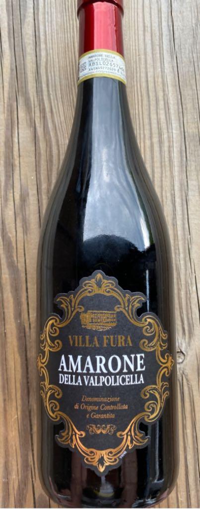 Amarone Della Valpolicella. Wine - Red (Vignaioli de castellana) front image (front cover)