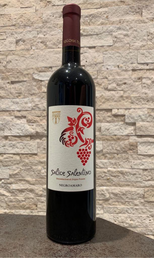Salice Salentino Wine - Negroamaro (Vecchia Torre) front image (front cover)